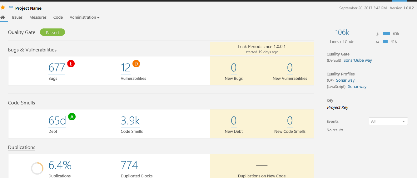 SonarQube Configuration - Server and Client - CodeSteer